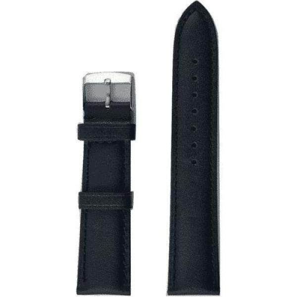 Louis Arden Watch Leather Strap Black 101 (16mm) Malaysia