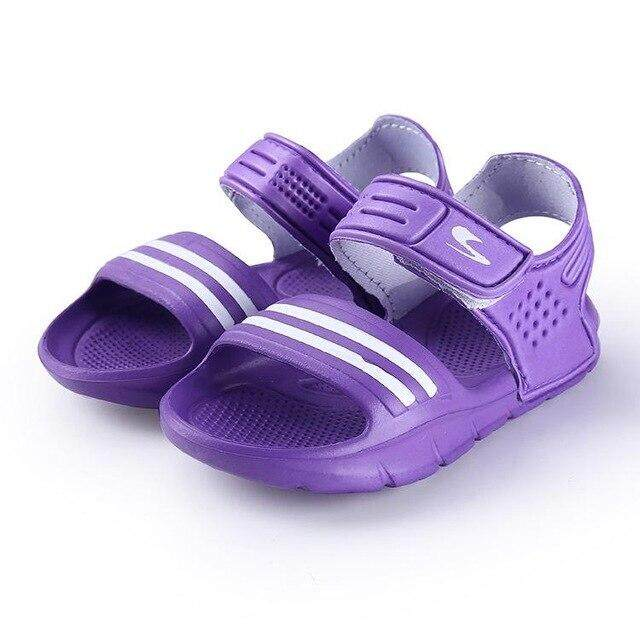 Summer Season 2018 Sells Sandals, Girls, Boys, Antiskid Shoes, Children, Pure Color, Casual Wear, Childrens Sandals.