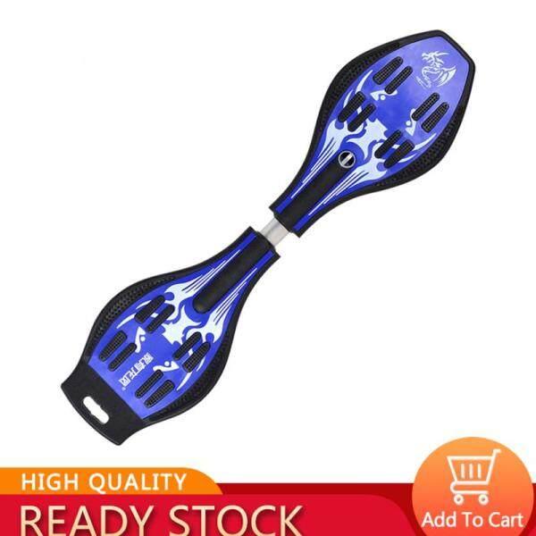 Ván trượt 2 bánh có đèn phát sáng thiết kế dạng xoắn kiểu dáng năng động dành cho trẻ em Bob Store - INTL