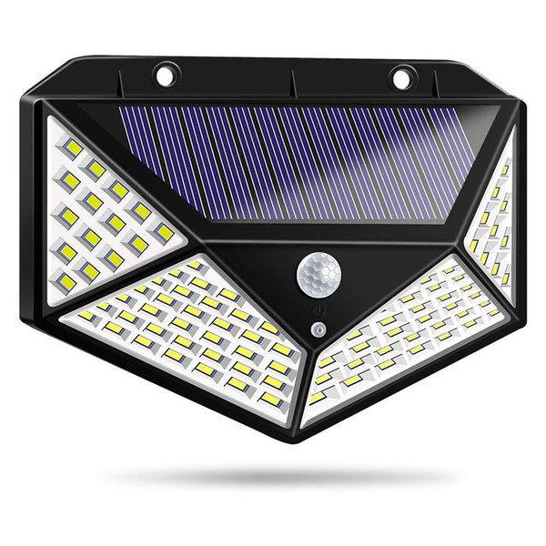 Bảng giá Đèn năng lượng mặt trời 100 LED - 3 chế độ sáng đèn cảm biến hồng ngoại ( Kha-nh LINH )
