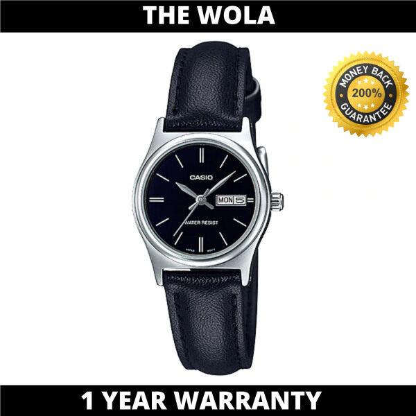 (100% Original CASIO) CASIO Women Casual Watch LTP-V006L-1B2UDF (watch for women / jam tangan wanita / Casio watch for women / Casio watch / women watch) Malaysia