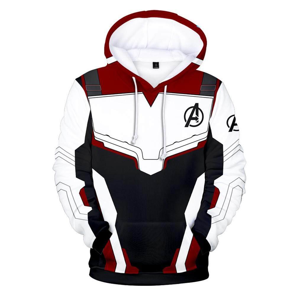 63a7d0f401f Crazy Motor Men Women Avengers 4 Hoodies Fashion Captain marvel Printing  Pullover Casual Sweatshirt