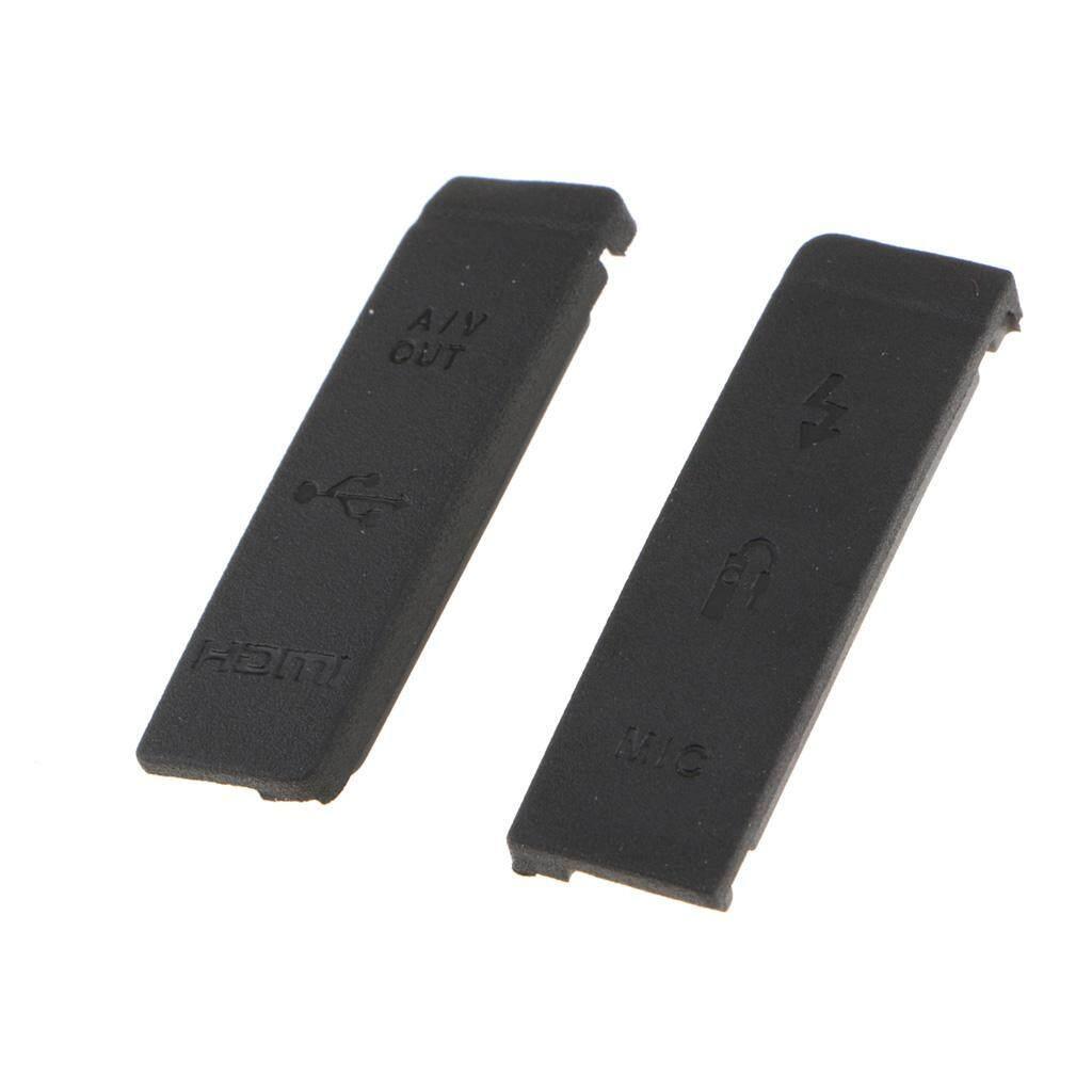 Coupon Giảm Giá Amagogo Dành Cho Canon EOS 5D2 5D Mark II USB CÓ MIC Flash Giao Diện HDMI Bao Da Nắp Cao Su Thay Thế