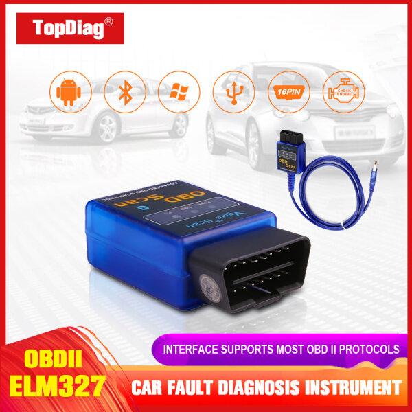 Car ELM327 USB EOBDII Diagnostic V1.5 Scanner Cars OBDII