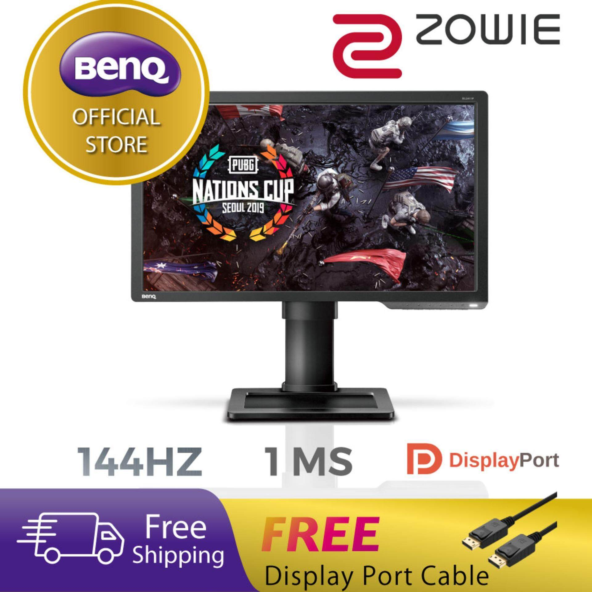 BenQ ZOWIE XL2411P 24 inch 24 144Hz 1ms Esports Gaming Monitor (Ready for PUBG) Malaysia
