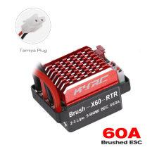 60A ESC RC Xe ESC Chải Điều Khiển Tốc Độ Điện 6V/2A BEC Cho 1/10 Traxxas TRX-4 Trx-6 D90 HSP Redcat RC 4WD Tamiya Axial SCX10 HPI DIY RC Car