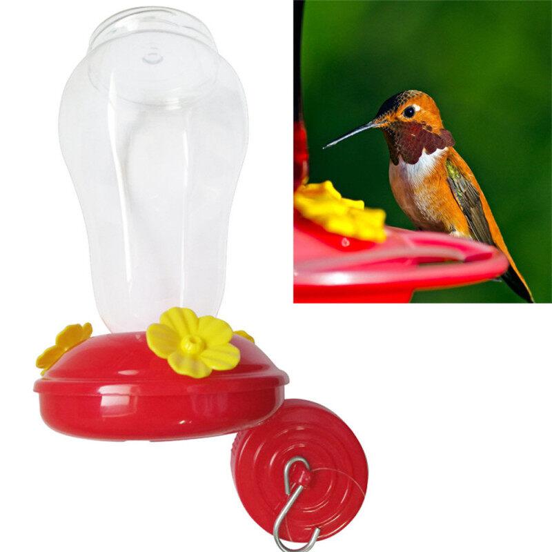 Thời Trang Móc Sắt Chai Patio Yard Cửa Sổ Pet Bird Nguồn Cung Cấp Vườn Ngoài Trời Hummingbird Drinker Bird Feeder