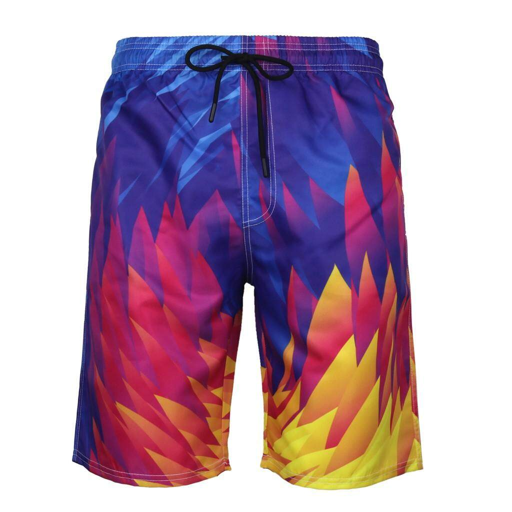 Mobilone Mens Summer New Style Fashion 3d Printed Shorts Recreational Sports Beach Pants By Mobilone.