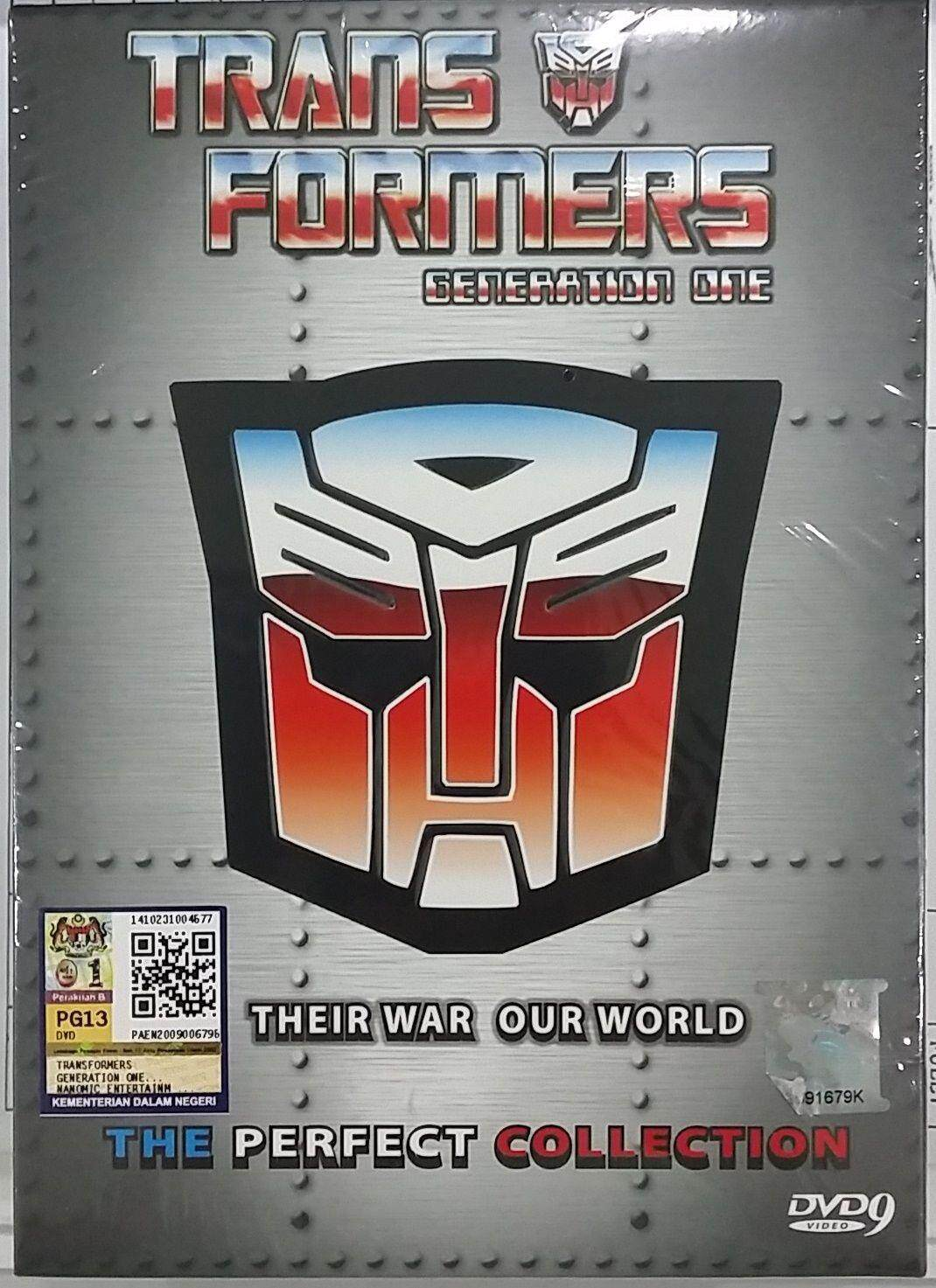 Anime Dvd Transformers Generation One The Perfect Collection Vol.1-98 End+movie By Onekm Animation Shop.