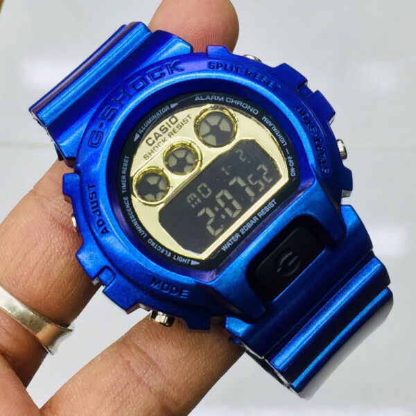 Promo_CASI0_G STYLE_Shock_DW-5600 & Dw6900_New Edition Alarm With Genuine Gift Box For Men & Women Batter Then Picture Good Quality Sprot Design Shock Resistant 200m Water Resistant Ready Stock Malaysia