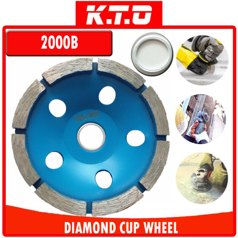 """1PCS 4"""" DIAMOND CUP WHEEL THIN THICK ANGLE GRINDER WHEEL for TILE CONCRETE CLAY BRICK GRINDING"""