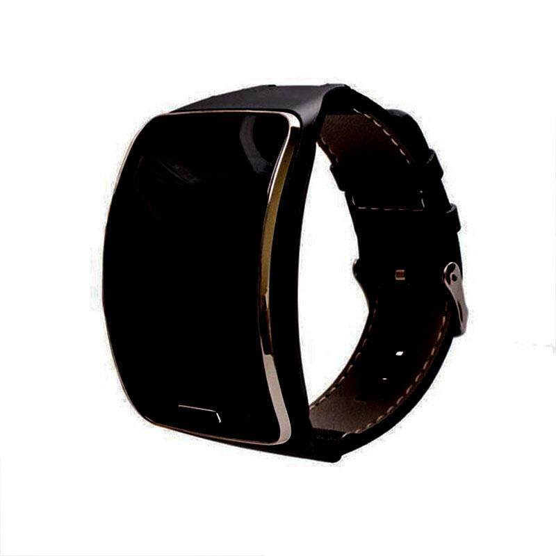 Triumphant Leather Watch Wrist Band Strap Bracelet For Samsung Gear S R750 Smart Watch Malaysia