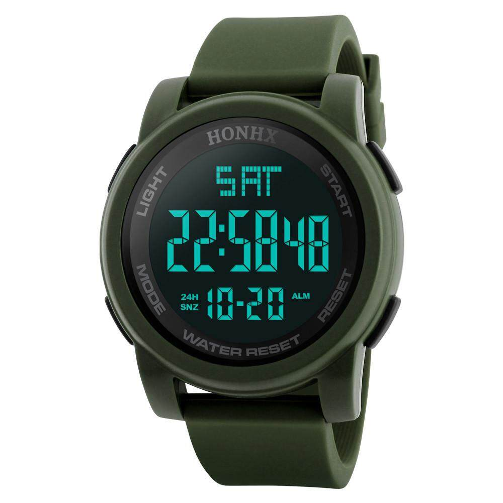 Fashion Mens LED Waterproof Digital Quartz Military Luxury Sport Date Watches Malaysia