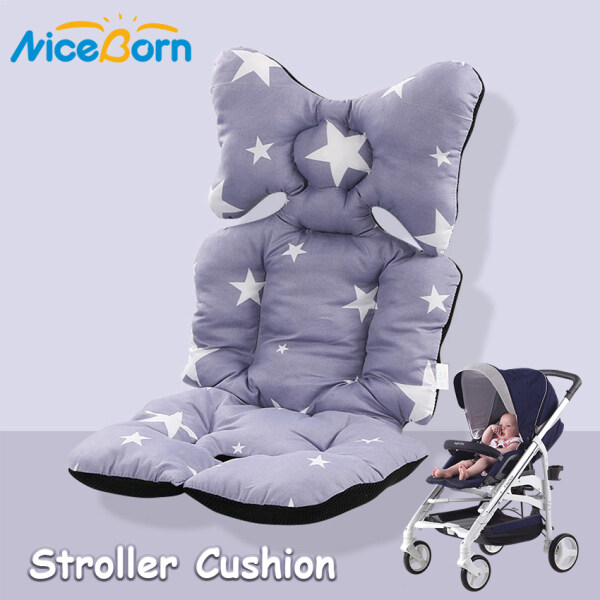 NiceBorn Đệm lót xe đẩy trẻ em chất liệu dày, mềm và thoải mái - INTL