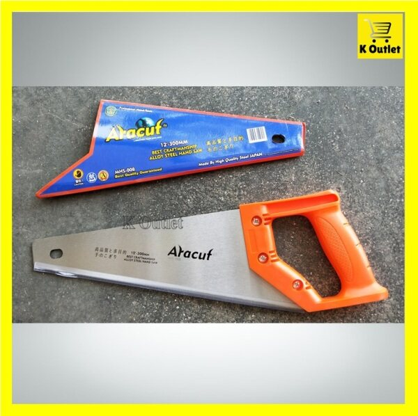 【12Inch】ARACUT Best Craftmanship Alloy Steel Hand Saw | Gergaji Potong Kayu