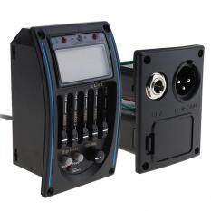 SLADE bộ chỉnh EQ âm thanh màn hình LCD có đèn Led kiểm tra pin yếu cho đàn ghi-ta điện và bass chuyên nghiệp – INTL – Hàng quốc tế Lưu ý thời gian giao hàng dự kiến