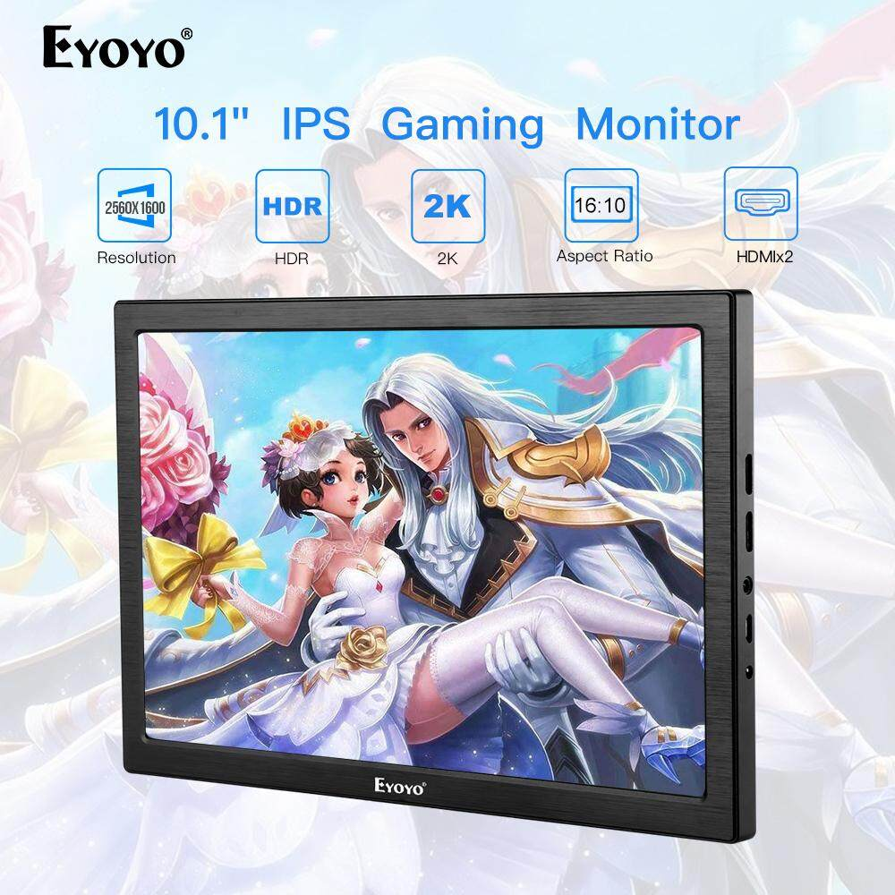 "Eyoyo 10"" inch IPS HDMI Gaming Monitor Seceond Screen for PC Laptop Compatible with PS4, Xbox one Xbox 360, Raspberry Pi Malaysia"