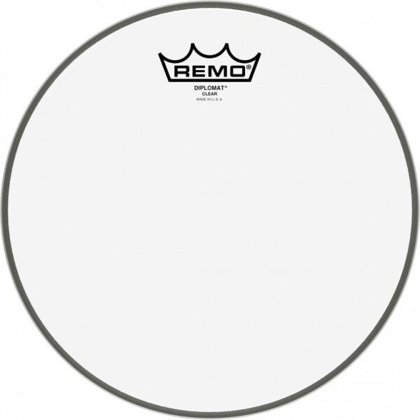 Remo Drum Skin Diplomat Clear 10 inch ( BD-0310-00 ) Malaysia