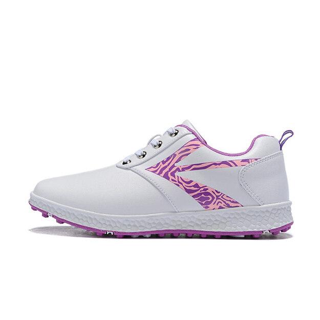 Giày Chơi Golf Nữ Chất Lượng Ngoài Trời Thể Thao Đi Bộ Giày Thể Thao Chống Nước Chống Trượt Mềm Mại Thoải Mái Đào Tạo giá rẻ