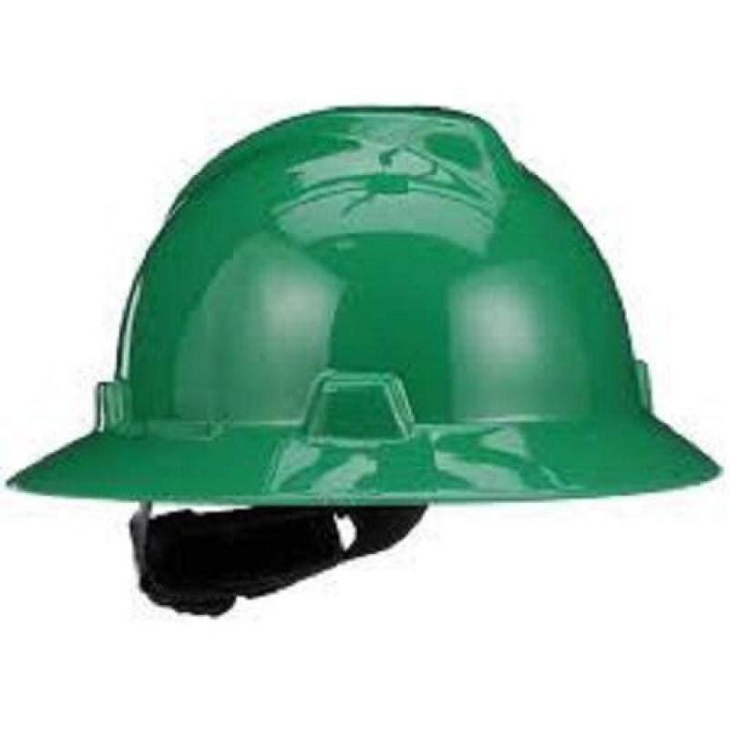 MSA HELMET FULL RIM V-GARD PROTECTIVE HAT W/RATCHET HARDNESS