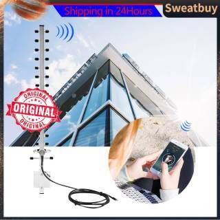 RP- Đầu Nối SMA Ăng Ten Không Dây Định Hướng 25dBi 2.4GHz Bộ Định Tuyến WiFi Cáp Ngoài Trời 2M thumbnail
