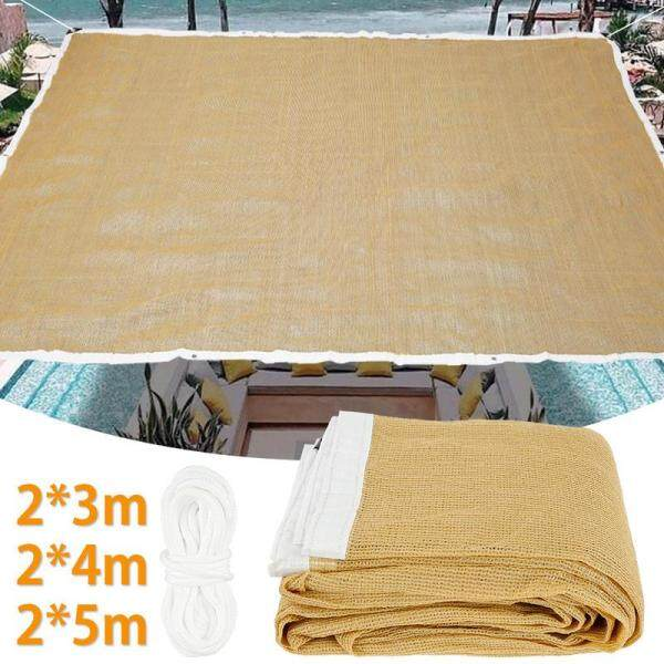 Canopy Durable UV Protection Mesh Shading Net High Density HDPE Outdoor Garden Sun Shelter Canopy Sunshade Net Balcony Netting Cloth