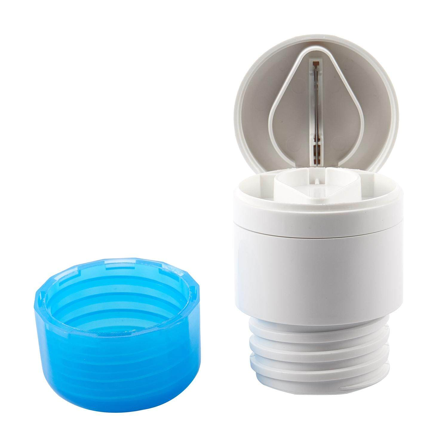 2-In-1 Function Round Pill Cutter Crusher Powder Tablet Medicine Tablets Cut Splitter Grinder Divider Blue & White By Sunnny2015.
