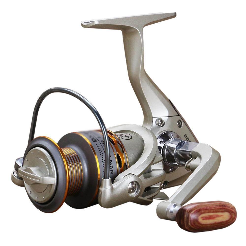 12+1BB Metal Fishing Reel Spinning Reel Smooth Metal Spool Lightweight Semi-metal Left