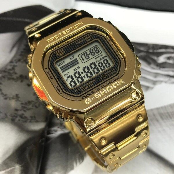 Casio_Gshock GMW B5000 Stainless steel men watch digital Malaysia