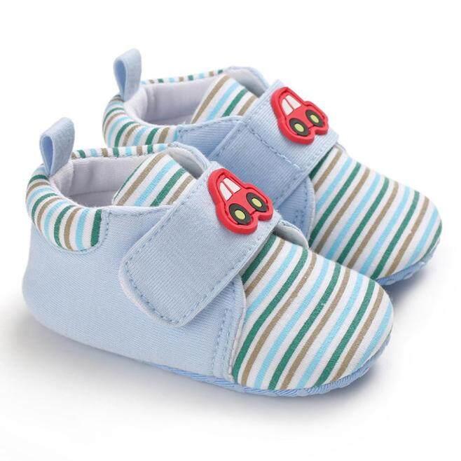 Giày Trẻ Em Giày Trẻ Sơ Sinh Giày Bé Trai Đế Mềm Chống Trượt Prewalker Với Nhãn Dán Ma Thuật giá rẻ