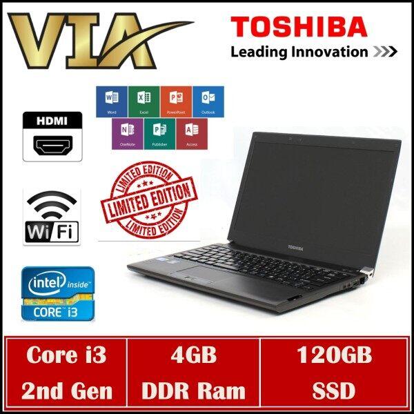 【Limited】Slim & Thin Toshiba Dynabook R731~Core i3-2nd Gen~4GB Ram~120GB SSD~Webcam&HDMi Malaysia