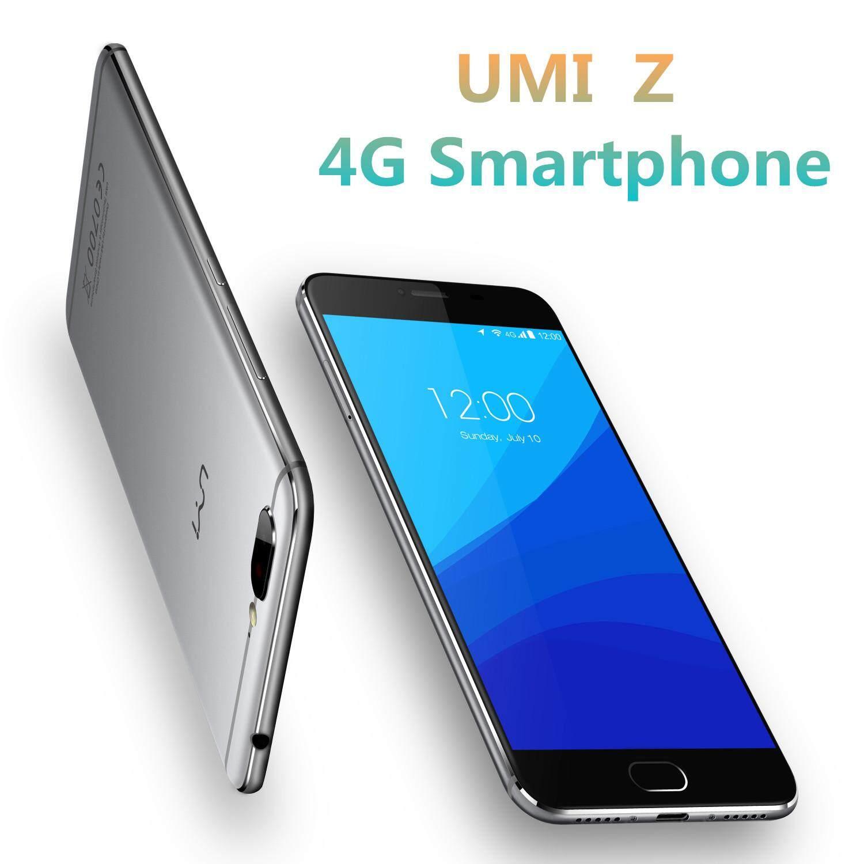 UMI Z 5.5 Inch 4GB RAM 32GB ROM MediaTek Helio X27 Deca Core 2.6Ghz 4G Smartphone Grey