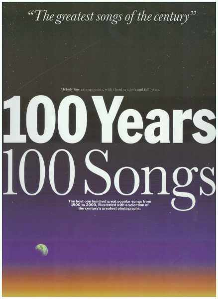 100 Years 100 Songs / Music Book / Song Book Malaysia