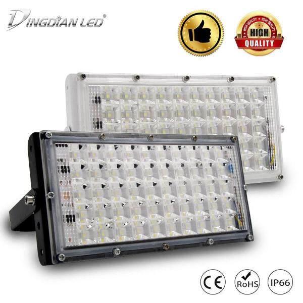 DINGDIAN LED 50W Pha AC165 ~ 260V Đèn Ngoài Trời Siêu Sáng Đèn LED DIY Kết Hợp Đèn LED Máy Chiếu vườn Đèn Đường