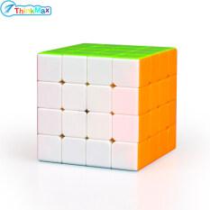 THINKMAX Ma Thuật Cube, Khối Ma Thuật Sáng Không Dán 4X4 MoFangGe Khối Lập Phương Tốc Độ 4X4X4 Màu