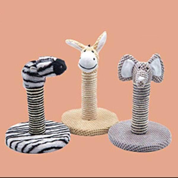 Mô Phỏng Động Vật Mèo Leo Khung Cho Mèo Trong Nhà Mèo Con Đồ Nội Thất Nhà Cây Mài Móng Vuốt Đồ Chơi Để Leo Núi Zebra