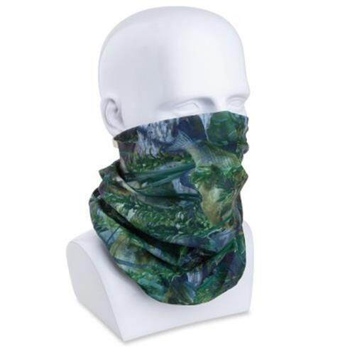 JUNGLEMAN H134 OUTDOOR MULTIFUNCTIONAL MAGIC SCARF SPORT HEADWEAR NECK FACE MASK (FISH CAMOUFLAGE)