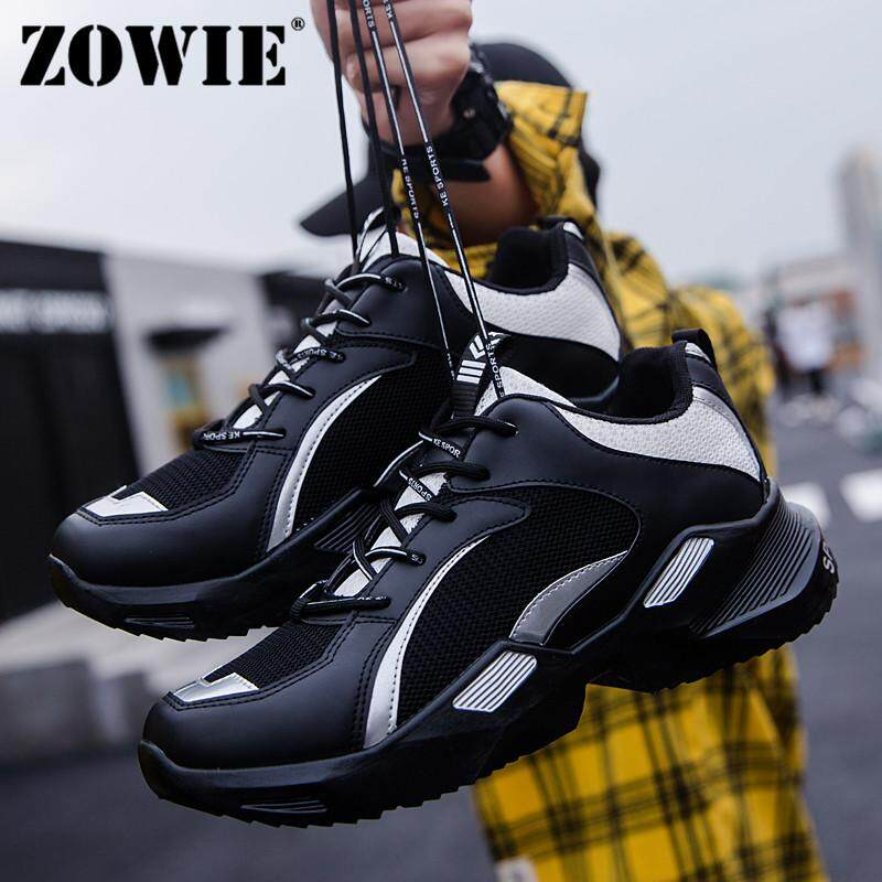 3bd726c39 ZOWIE Men's Summer New Sports Shoes Casual Shoes Comfortable Inside  Breathable Mesh Non-Slip Wear