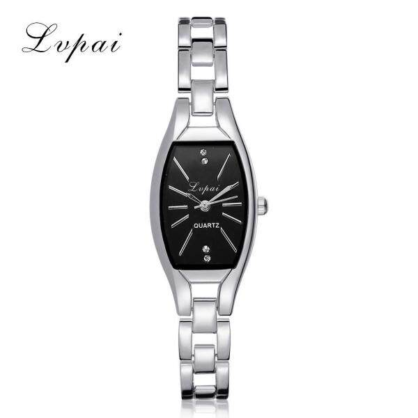(PLANIESTY) Fashion Ladies Women Unisex Stainless Steel Rhinestone Quartz Wrist Watch A watch for women sale original new best seller fashion branded silver Malaysia