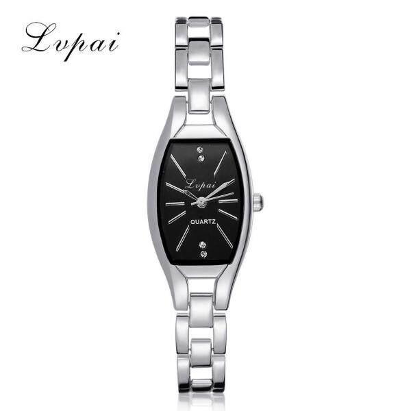 (PLANIESTY) Fashion Ladies Women Unisex Stainless Steel Rhinestone Quartz Wrist Watch A watch for women sale original new best seller fashion branded silver Malaysia
