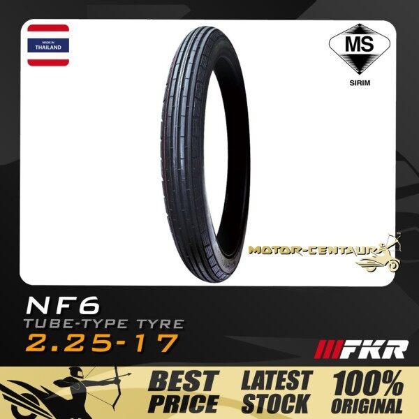 TAYAR FKR TUBE-TYPE TYRE NF6 (BUNGA LAMA KLASIK CLASSIC RETRO) 2.25-17 225-17 motorcycle accessories