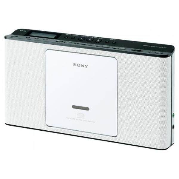 SONY CD Radio ZS-E80: FM / AM / FM wide corresponding language-learning featured white ZS-E80 W Singapore