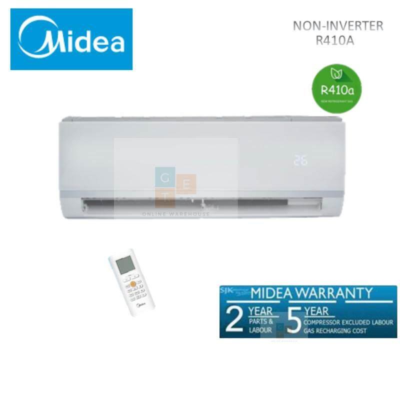 MIDEA 2.5hp R410A NON INVERTER WITH IONIZER AIR CONDITIONER MSAE-25CRN1