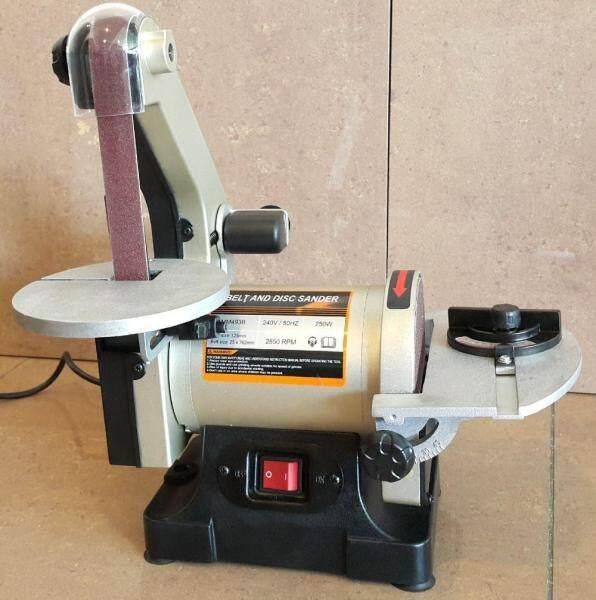 MM493B 250w Belt & Disc Sander 25x125mm ID229422