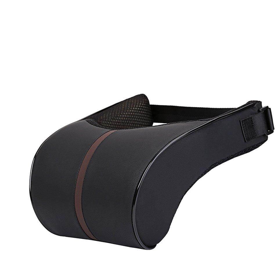 WhMy Ergonomic Memory Cotton Headrest Neck Rest Cushion Pillow
