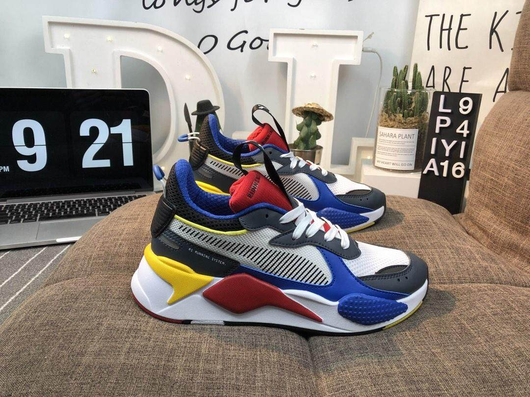 fd08d2ef974ca8 Puma X Hasbro RSX Transformers Optimus Prime Training Shoes Sports Shoes  Running Sneakers for Men