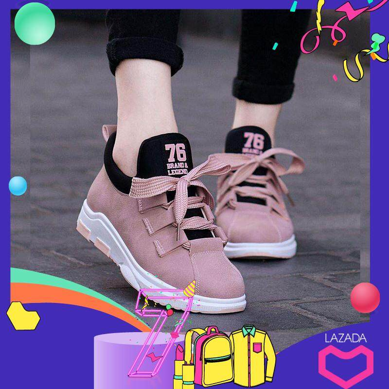3 Color New Breathable Running Shoes For Women Light Casual Shoes Damping Comfortable Sport Shoes Wear-Resistant Sneakers 2019 Pink By G-Gourd Lighting Store.