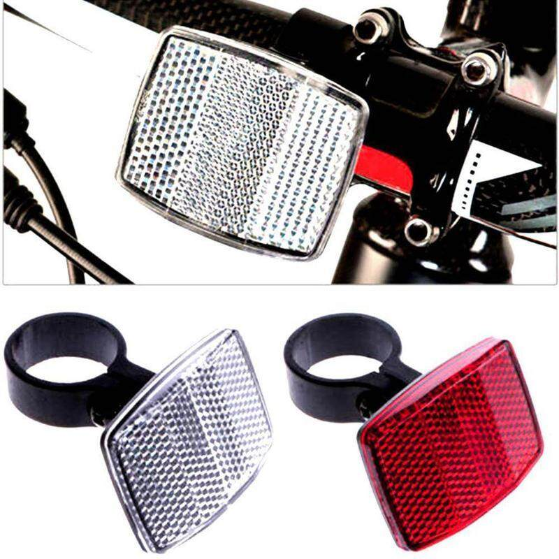 One Road Cycle Bicycle Reflector Light Reflective Strips Stick Front Rear Tool