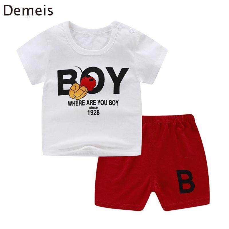 Trousers Pants Outfits Sets Puloru Kids Baby Boys T-Shirt Pant Sets Little//Big Brother Short Sleeve Top