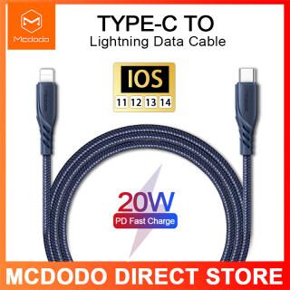 Mcdodo PD20W Type-C Sang Lightning Cáp Cho iPhone 12 Pro 12 Mini Xs Max XR 8 Plus PD Cáp Dữ Liệu Sạc Nhanh thumbnail